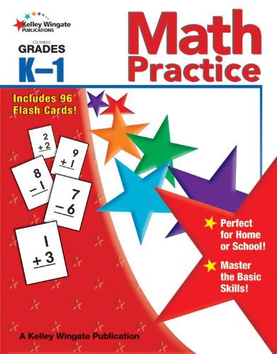 9781604182675: Math Practice, Grades K - 1