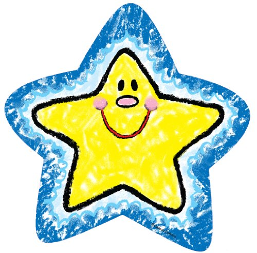 9781604183009: Stars Cut-Outs: Kid-Drawn