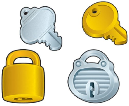 9781604186154: Locks & Keys Cut-Outs