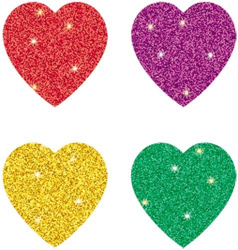 9781604186246: Hearts, Multicolor Chart Seals
