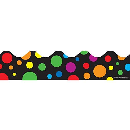 9781604186284: Big Rainbow Dots Scalloped Borders
