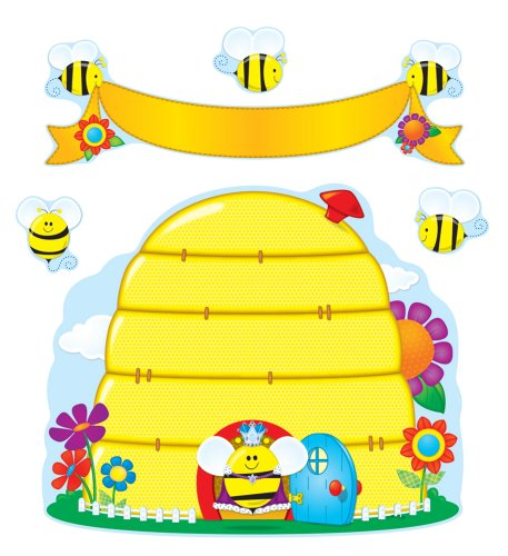 9781604186529: Busy Bees Bulletin Board Set