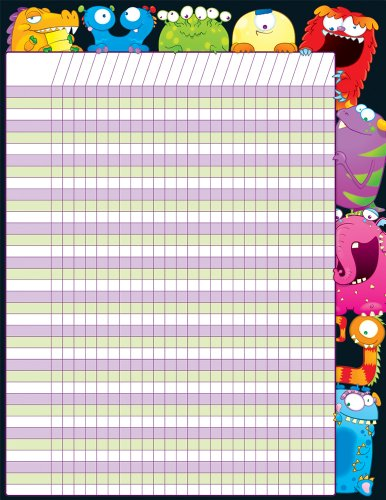 9781604186611: Monsters Incentive Chart