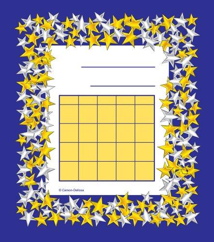 9781604186840: Gold and Silver Stars Mini Incentive Charts