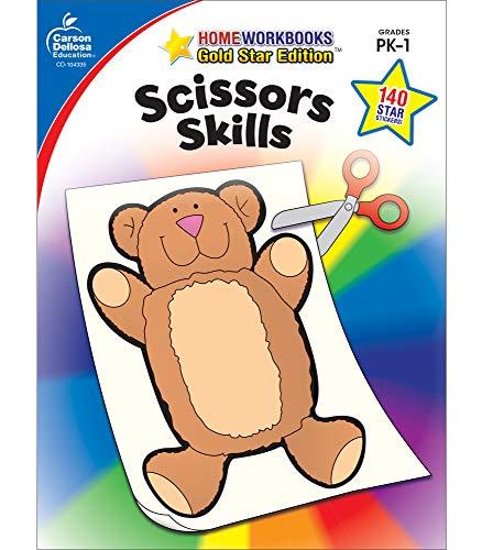9781604187663: Scissors Skills, Grades PK - 1: Gold Star Edition (Home Workbooks)