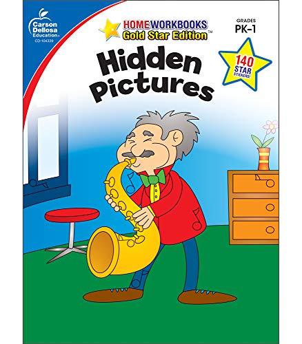 9781604187700: Hidden Pictures, Grades PK - 1: Gold Star Edition (Home Workbooks)