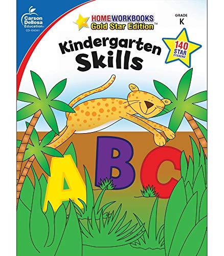 9781604187724: Kindergarten Skills: Gold Star Edition (Home Workbooks)