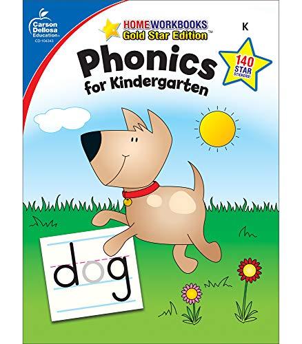 9781604187748: Phonics for Kindergarten, Grade K (Home Workbook)