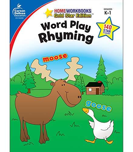 9781604187816: Word Play: Rhyming, Grades K - 1: Gold Star Edition (Home Workbooks)