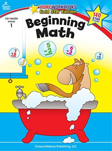 9781604187908: Beginning Math, Grade 1 (Home Workbooks)