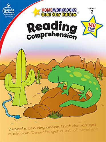 9781604187946: Reading Comprehension, Grade 2: Gold Star Edition (Home Workbooks)