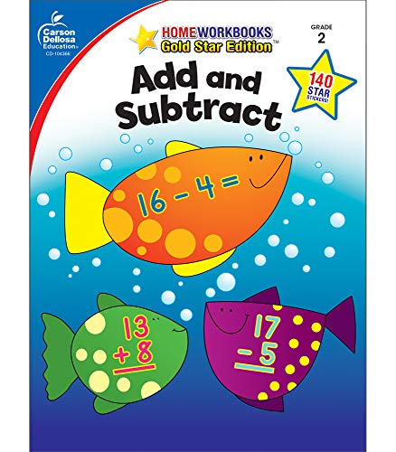 9781604187977: Add and Subtract, Grade 2: Gold Star Edition (Home Workbooks)