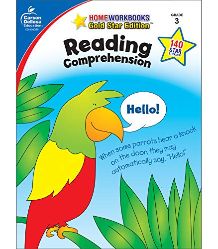 9781604188004: Reading Comprehension, Grade 3: Gold Star Edition (Home Workbooks)