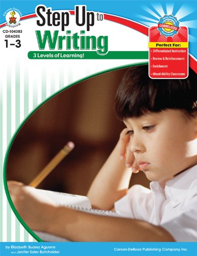 9781604188066: Step Up to Writing, Grades 1 - 3 (Step Up Series)
