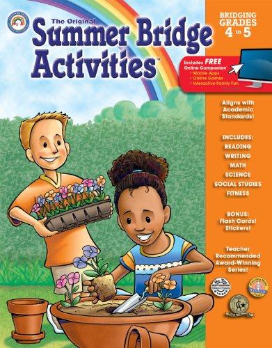 Original Summer Bridge Activities Bridging Grades 4 5