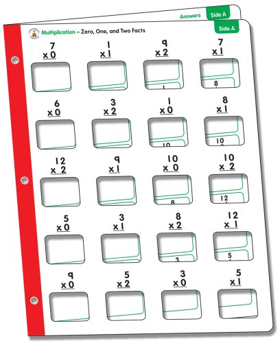9781604188875: Math Windows, Grades 2 - 5: Multiplication (Centersolutions Write-On Wipe-Away Cards)