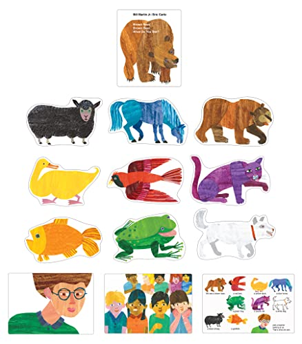 9781604189063: Brown Bear, Brown Bear, What Do You See? Bulletin Board Set