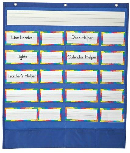 9781604189094: Classroom Helpers Pocket Chart