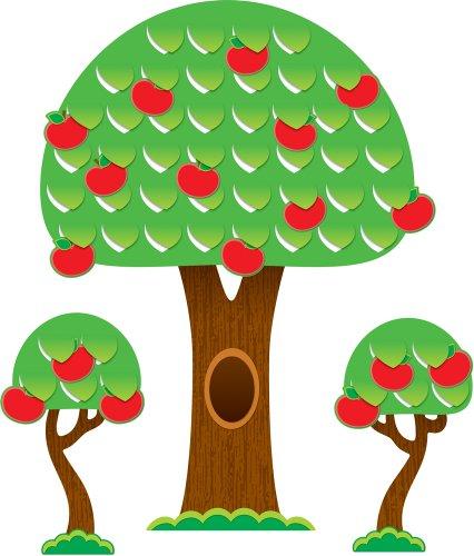 9781604189353: Tree Bulletin Board Set