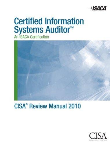 9781604200928: CISA Review Manual 2010