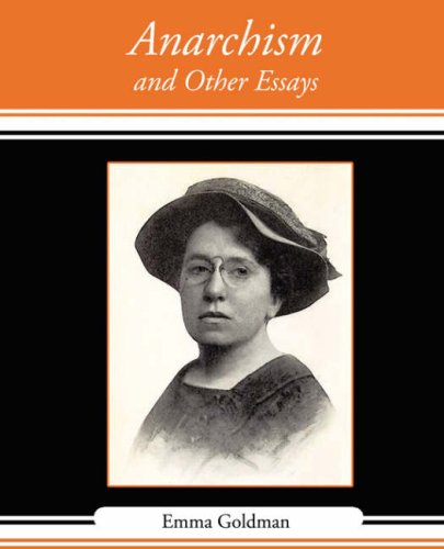 emma goldman american individualist essay Custom facebook essay emma goldman anarchism and other essays thesis writers revolution as a way of life (jewish lives) emma goldman: american individualist.