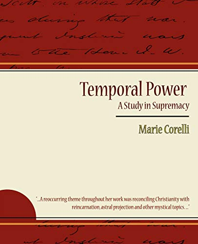 9781604248920: Temporal Power - A Study in Supremacy