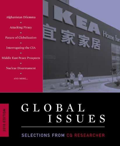 9781604265187: Global Issues: Selections from CQ Researcher, 2010 Edition