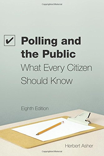 9781604266061: Polling and the Public: What Every citizen Should Know, 8th Edition