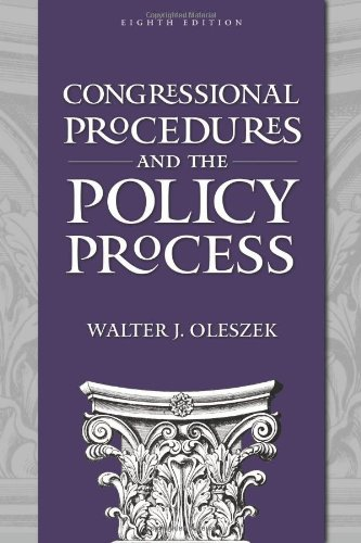 9781604266139: Congressional Procedures and the Policy Process