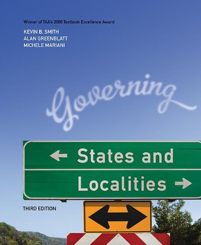 9781604267280: Governing States and Localities