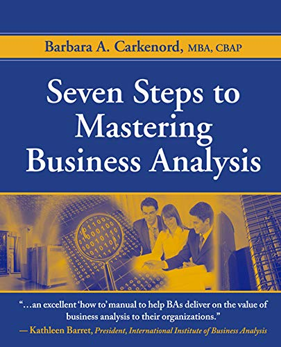 9781604270075: Seven Steps to Mastering Business Analysis