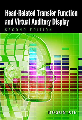 9781604270709: Head-Related Transfer Function and Virtual Auditory Display (A Title in J. Ross Publishing's Acoustic)