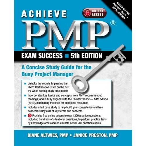 9781604270884: Achieve PMP Exam Success, 5th Edition: A Concise Study Guide for the Busy Project Manager
