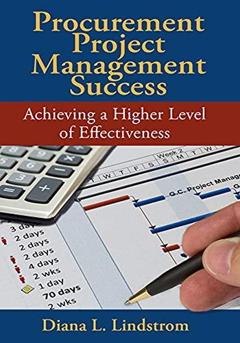 Procurement Project Management Success: Lindstrom, Diana L