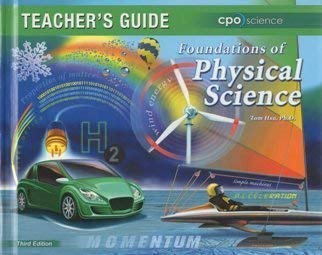 Foundations of Physical Science: Teacher's Guide: Hsu, Tom