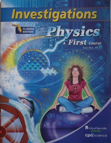 9781604311303: Investigations Physics a First Course Fl, Ed.