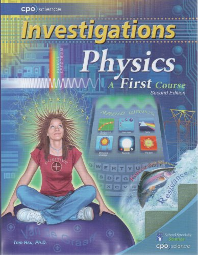 9781604312041: Investigations Physics a First Course