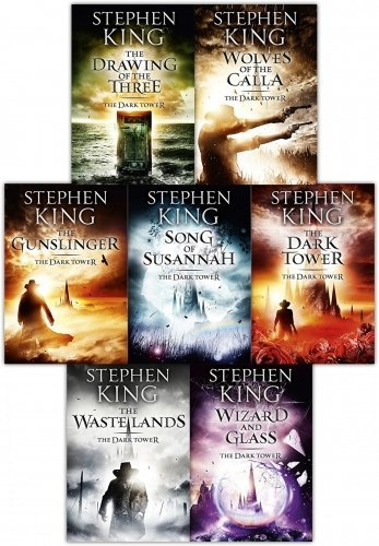 9781604322668: Dark Tower Series: Complete Set (Books 1-7) :Gunslinger the Drawing of the Three the Wastelands Wizard and Glass Wolves of the Calla Song of Susannah the Dark Tower