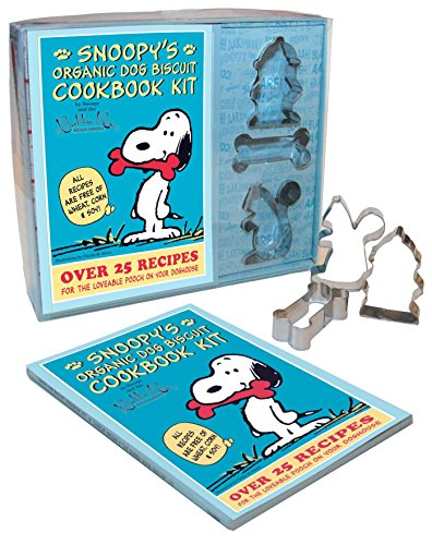 9781604332896: Snoopy's Organic Dog Biscuit Kit: Over 25 Recipes for the Loveable Pooch on Your Doghouse