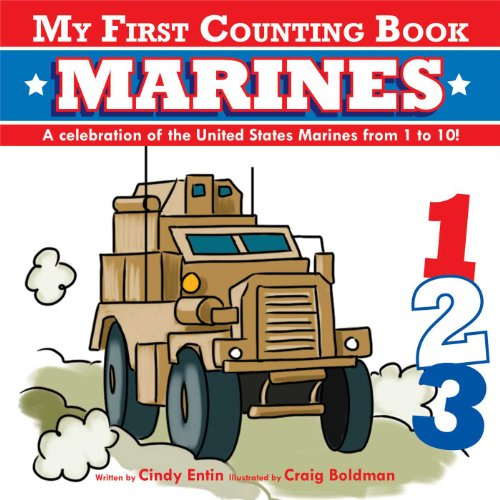 9781604333220: My First Counting Book: Marines