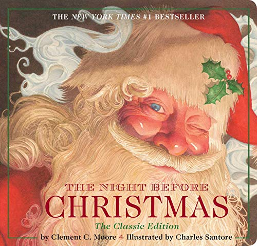 9781604334388: Night Before Christmas board book: The Classic Edition