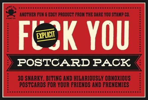 The Fuck You Postcard Pack: Cider Mill Press