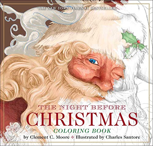 9781604336832: The Night Before Christmas Coloring Book: The Classic Edition