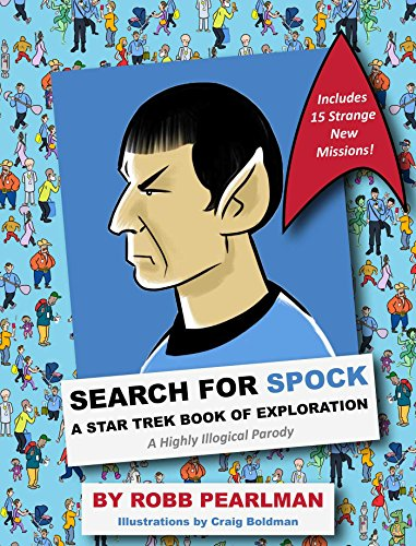 9781604337341: Search for Spock: A Star Trek Book of Exploration: A Highly Illogical Parody