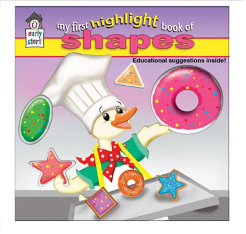 9781604360127: My First Highlight Book of Shapes (Early Start)
