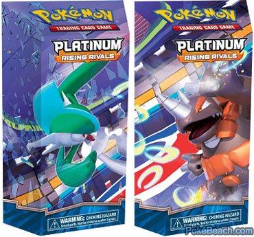 9781604380583: Pokemon TCG: Platinum Rising Rivals Theme Deck