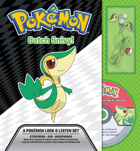 9781604381573: Catch Snivy! A Pokemon Look & Listen Set (Pokemon Pikachu Press)