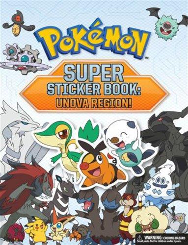 9781604381603: Pokémon Super Sticker Book: Unova Region! (Pokemon Pikachu Press)