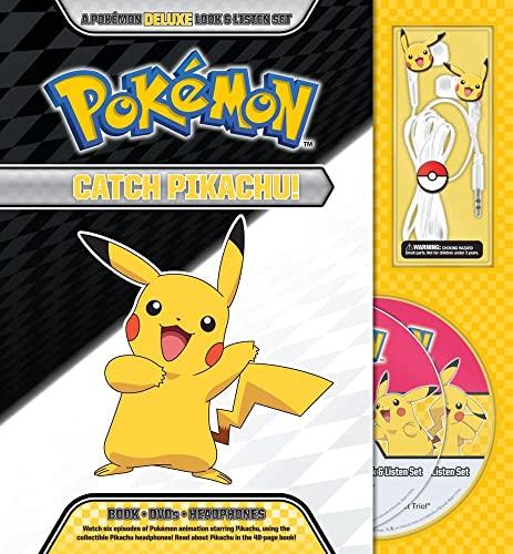 9781604381719: Catch Pikachu! DELUXE Look & Listen Set (Pokemon)