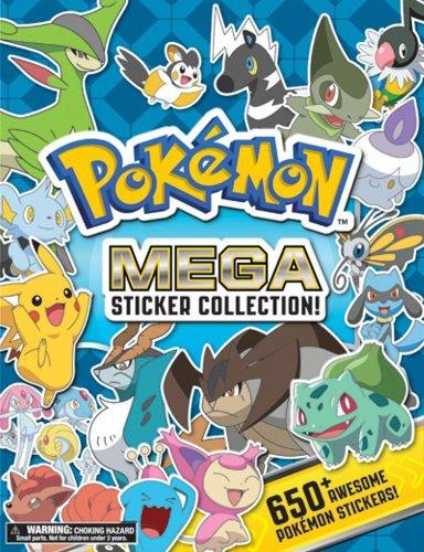 9781604381764: Pokemon Mega Sticker Collection (Pokemon Pikachu Press)